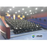 Best Fast Return 5D Theater With Genuine Leather Electric 5D Seats In Business Center wholesale