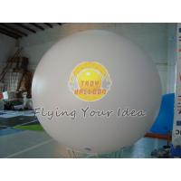Best 8ft Diameter Reusable White Inflatable Advertising Helium Balloon for opening event wholesale