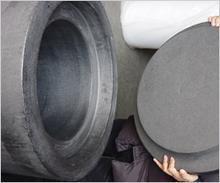 Best graphite hard felt thermal insulation cylinder / thermal insulation plate / all specification / sales in order wholesale