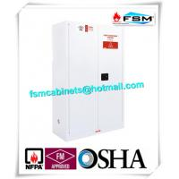 Best Chemical Security Hazardous Storage Cabinets White With Electronic Lock wholesale