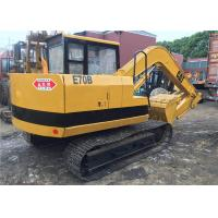 Buy cheap secondhand Japan origin weight 6900kg small Caterpillar E70B midi excavator from wholesalers