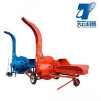 China Agricultural chaff hay cutter for farm animal feed on sale