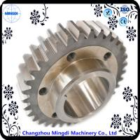 Quality Fixed 1 - 22M Steel  Spur Gear Transmission Gear Parts With Spline Shaft wholesale