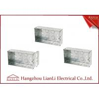 Cheap Custom Outdoor Waterproof Metal Electrical Gang Box Pre Galvanized for sale