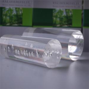 Best Diameter 4mm Length 15cm Acrylic Tubes Rods Extrude Transparent Round Acrylic Rod wholesale