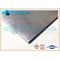 China Mill Finished Aluminium Honeycomb Wall Panels For Furniture Decoration Antirust on sale
