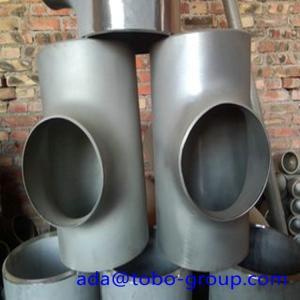 Best Sus304 304L 316 316L Stainless Steel Tee , 1-48 inch steel pipe tee wholesale
