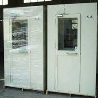 Buy cheap Metal Clean Room Equipment , Single Person Cleanroom Air Shower PLC Control from wholesalers