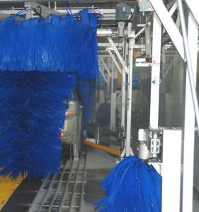Best Blue Brush Car Wash Machine Autobase With High Pressure Water Spray Systems wholesale