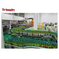 China Industrial Fruit Juice Glass Bottle Filling Machine , Bottle Packing Machine 4.8Kw on sale