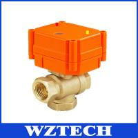Best Brass 3 Way Intelligent Ball Valve, Temperature Control Electric Valve wholesale