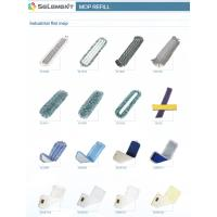 Buy cheap Microfiber,Cotton,Viscose,Polyeater,Polyamide--Industrial Flat Mop from wholesalers
