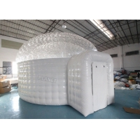 Best 0.55mm Pvc Inflatable Igloo Tent For Outdoor Observe Stars wholesale