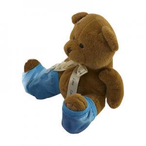 Best Blue Moisturizing Gel Socks / Gel Filled Socks 9x12 cm Heel Gel Spa Socks wholesale