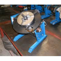 Quality Pipe Round Small Welding Table Hand Wheel With Foot Pedal 300kg 600mm wholesale