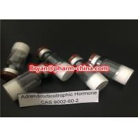 Best HPLC 99% injectable Polypeptide Hormones 9002-60-2 ACTH Adrendcorticotrophic Hormone For Muscle Building wholesale