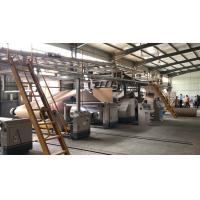 Best Automatic 2 Ply Corrugated Cardboard Production Line For Paperboard Rolls / Sheets wholesale
