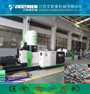 Buy cheap Но recycling пелле Automatic plastic machine single сопроводительной extruder from wholesalers