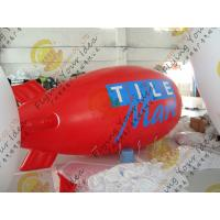 Cheap Durable Inflatable Helium Zeppelin , B1 Colorful Fireproof Inflatable Airship for sale