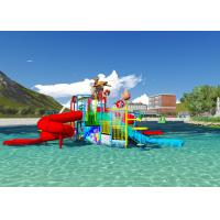 Best Water Pool Toys Theme Park Concept Design Customized Aqua Playground With Dump Bucket wholesale