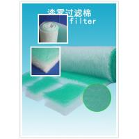 Quality High Arrestance G4 Fiberglass Air Filters 50mm For Absorbing The Soot wholesale
