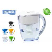 Buy cheap BPA Free Plastic Alkaline Well Blue Water Filter Pitcher 3.5L Multi Colored from wholesalers