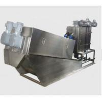 Best Civil Sludge Drying Equipment / Volute Sludge Dewatering Environmental Friendly wholesale