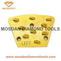 Best PCD Trapezoid Epoxy Removal Concrete Grinding Diamond Segment wholesale
