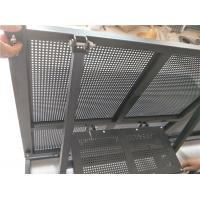 Best Temporary Concert Stage Crowd Control Barriers Folding Power Coated Surface wholesale