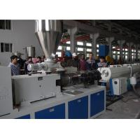Best High Capacity Plastic Pipe Extrusion Line , High Speed Extrusion Pvc Pipe Making Machine wholesale