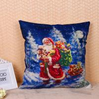 Buy cheap 45 * 45cm Cotton Linen Decorative Pillow Covers For Couch Eco Friendly from wholesalers