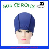 Best Children blue surf and swimming lycra caps wholesale