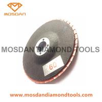 Cheap 4'' Electroplated Diamond Abrasive Flap Disc for Marble Granite for sale