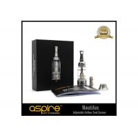 Quality 5ml Nautilus Aspire Clearomizer , E Cig Clearomizer Tanks With CE And RoHS wholesale