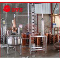 Best 200L red copper industrial alcohol distillation equipment / machine wholesale