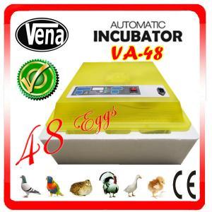 Best Full automatic make chicken egg incubator VA-48II for sale wholesale