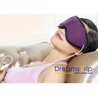 China 3D Health Medical Massage USB Far Infrared Heating Eye Mask for Eye Relief Stress Improve Sleep on sale