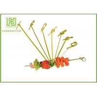 Best Healthy Bbq Vegetable Skewers , Yakitori Roasting Wooden Meat Skewers For Party wholesale