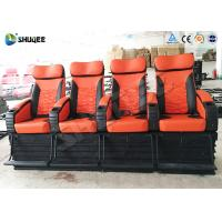 Best Various Complicated Special Effect 4D Cinema System With 4 Seats / 6 Seats wholesale