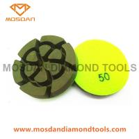Best 3'' Resin Bond Concrete Polishing Pucks 12mm Thickness wholesale