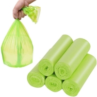 Best Green Biodegradable Trash Bags Plastic Degradable Rubbish Garbage Bags for Kitchen Office Car wholesale