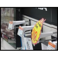 Best COMER security Slat-wall Display Hook with Price Tag for mobile phone accessories stores wholesale