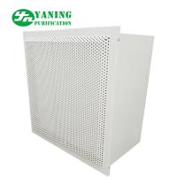 China Terminal Clean Room Hepa Filter Box Lacquer Bake Board For Purification Workshop on sale