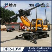 Best High Quality Hydraulic Pile Driving Machine DFR-10W wholesale