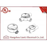 Buy cheap Hot Dip Galvanized Electrical Junction Box One Way To Four Way , Size Customized from wholesalers