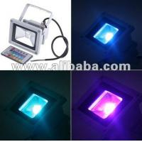 China 30W High Power Remote Control LED RGB Flood Light Color Changing on sale