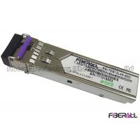 1.25Gbps BIDI Single Fiber LC SFP Optical Transceiver Single Mode 80Km DDM