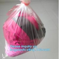 Best Pva Water Soluble Bags, Custom Made Embossed Dissolvable Medical Laundry Bags For Infection Control wholesale