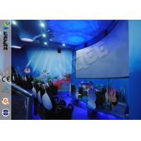 Best Funny Cartoon Cute 5D Theater System 360 Degree Screen With Motion Simulator Film wholesale