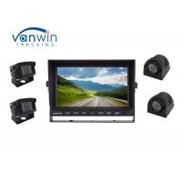 Best Sturdy 4CH 1080P LCD Quad Car Video Monitor DVR 12~24V With 4 Channel HD Inputs wholesale